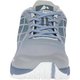 Merrell Bare Access Flex Hardloopschoenen Dames grijs/blauw